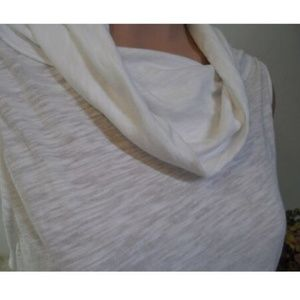 Free People Tops - Free People High Low Top Sz S Sleeveless Cowl Neck